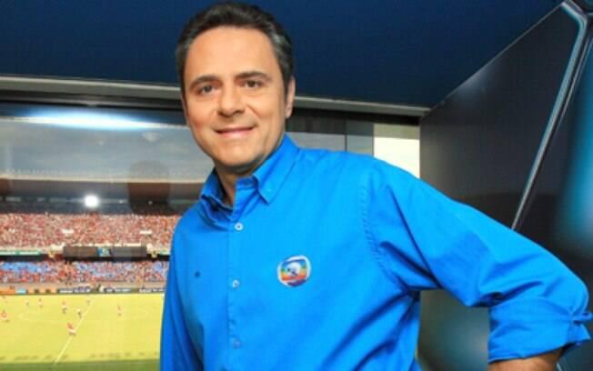 Luis Roberto comete gafe ao errar o nome da novela das seis da TV Globo