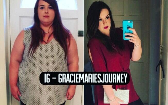 Pedido de casamento foi motivação para Grace Mecklenburgh mudar e emagrecer