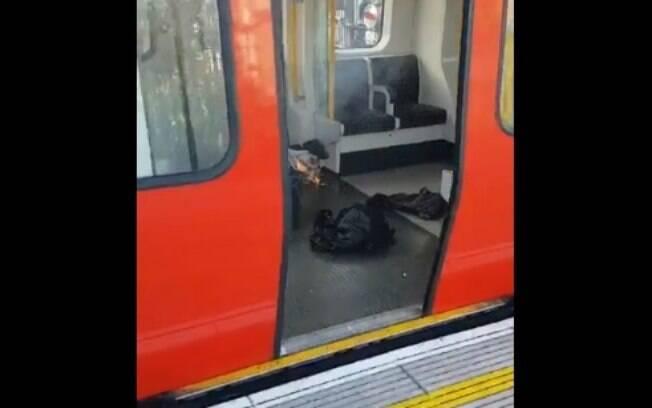 Explosão deixou feridos na estação de metrô Parsons Green, no sudoeste de Londres, na madrugada de sexta-feira (15)