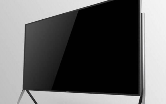 TV da Samsung tem motor que permite que tela seja dobrada