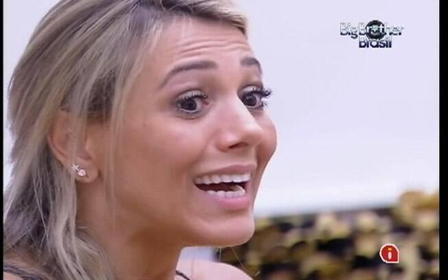 Fabiana diz temer reações de Rafa