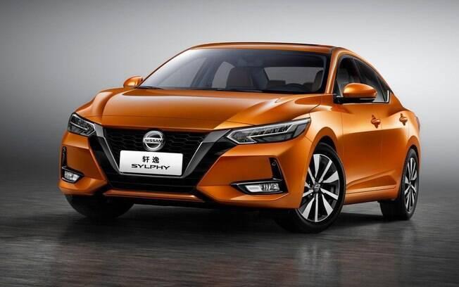 Nissan Sylphy, exclusivo para o mercado chinês, antecipa as linhas da próxima geração do Sentra