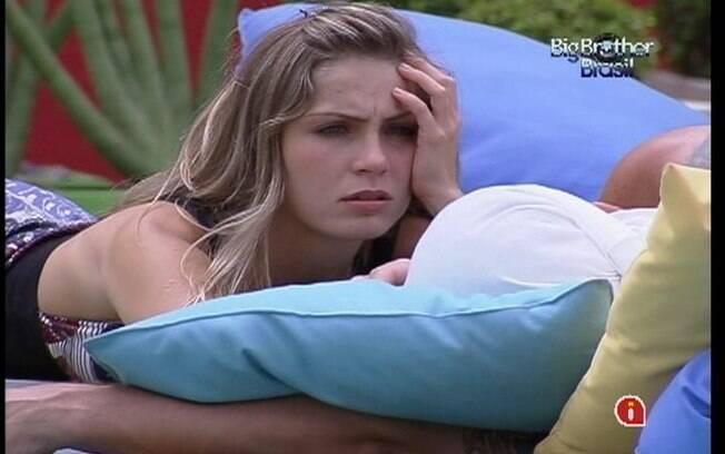 Renata sobre rivais: