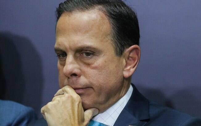 O Governador de São Paulo, João Doria, está em viagem aos Emirados Árabes