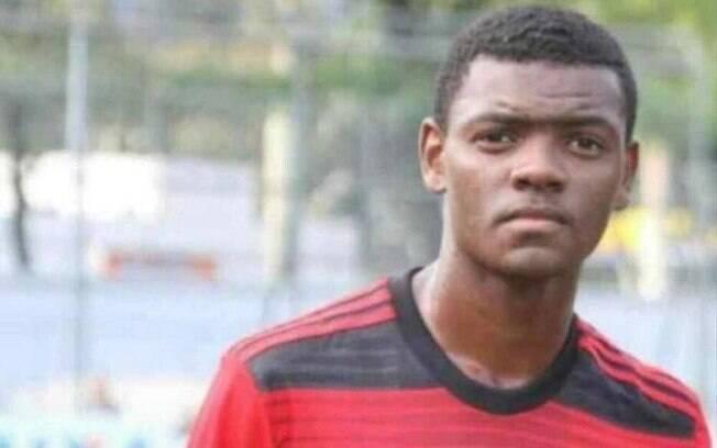Pablo Henrique da Silva Matos, do Flamengo, era primo do zagueiro Werley, hoje no Vasco. Foto: Twitter/Reprodução