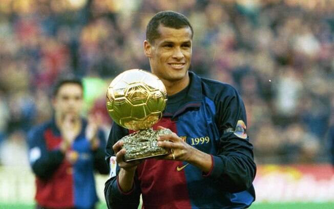 Rivaldo foi o grande vencedor da Bola de Ouro de 1999