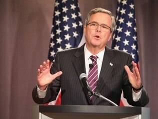 Jeb Bush é considerado o republicano com mais chances na disputa pela Casa Branca em 2016