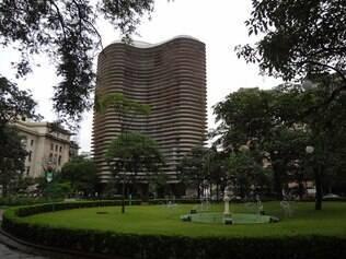 Praça da Liberdade, em Savassi,centro cultural de Belo Horizonte