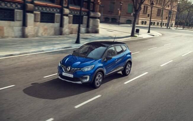 Renault Captur se renova para países emergentes, como a Rússia e o Brasil onde o SUV deverá estrear no ano que vem