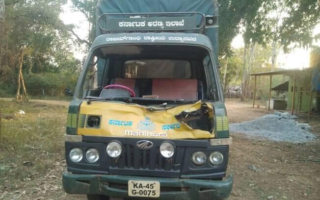 Ataque aconteceu em parque no sul da Índia.