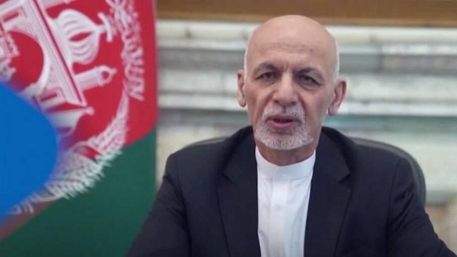 Ex-presidente do Afeganistão, Ashraf Ghani