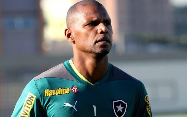 Jefferson, capitão e goleiro do Botafogo