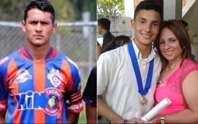 Ender Peña e José Gustavo: jogadores morreram durante protestos na Venezuela