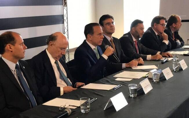 João Doria participou de reunião com grupo que pretende viabilizar PPPs