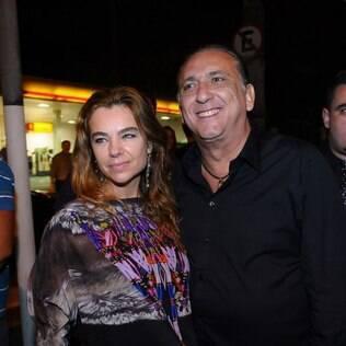 Desirée Soares e Galvão Bueno