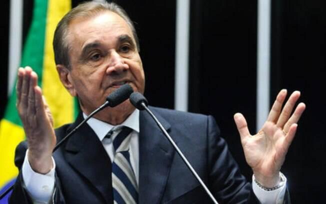 O senador Agripino Maia (DEM-RN) foi figura constante nos protestos pelo impeachement de Dilma Rousseff (PT), a quem acusava de ser corrupta