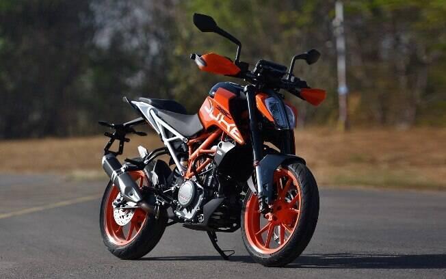 KTM 390 Duke: Opção para quem procura mais desempenho, abaixo dos R$ 25 mil
