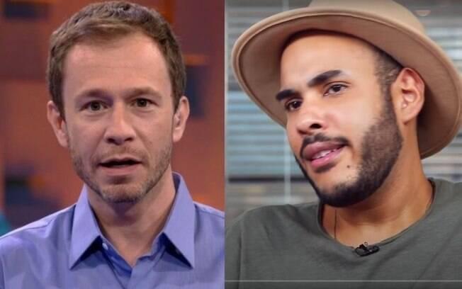 Tiago Leifert e Hugo Gloss discutiram por causa de Cartolouco