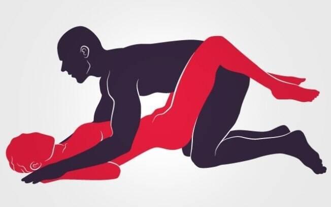 Apoiar o quadril em um travesseiro garante uma penetração profunda para os orgasmos múltiplos