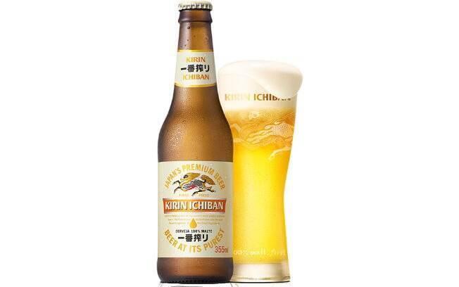 Cerveja Japanese Rice Lager, da Kirin Ichiban