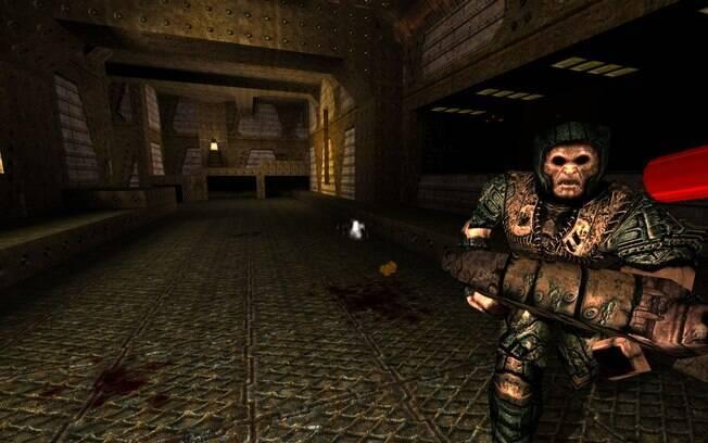 Quake foi o precursor do gênero FPS (jogos online de tiro em primeira pessoa, em tradução livre do inglês), que virou febre no mundo todo