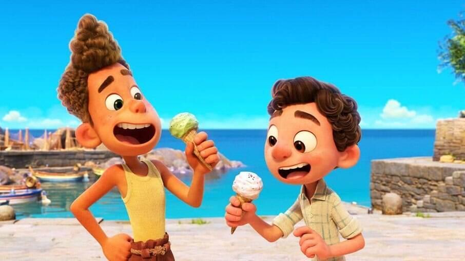 Luca, nova animação da Pixar, estreou no Disney+