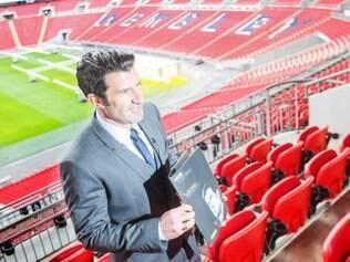 Nesta quinta-feira, o português lançou oficialmente a campanha à presidência da Fifa, no estádio de Wembley, na Inglaterra