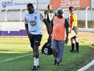 Obina se lesionou na partida frente a Caldense, pela última rodada da primeira fase do Mineiro