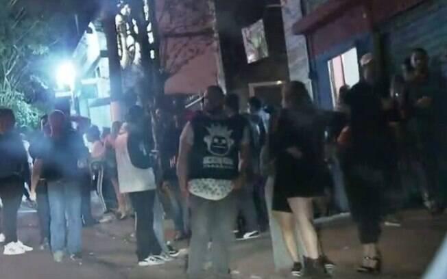 Houve aglomerações no segundo fim de semana de reabertura noturna em São Paulo