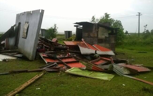 Governo decretou estado de emergência por um mês para tentar remediar prejuízos. Foto: Fiji Red Cross/Divulgação - 21.02.2016