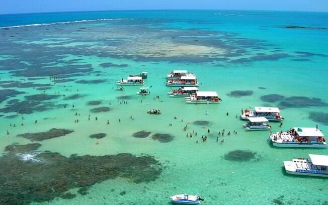 Maragogi é o segundo destino mais visitado pelos turistas