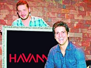 Investimento.  Os sócios Bolivar Andrade e Ralph Marcellini decidiram investir na cidade de Contagem.