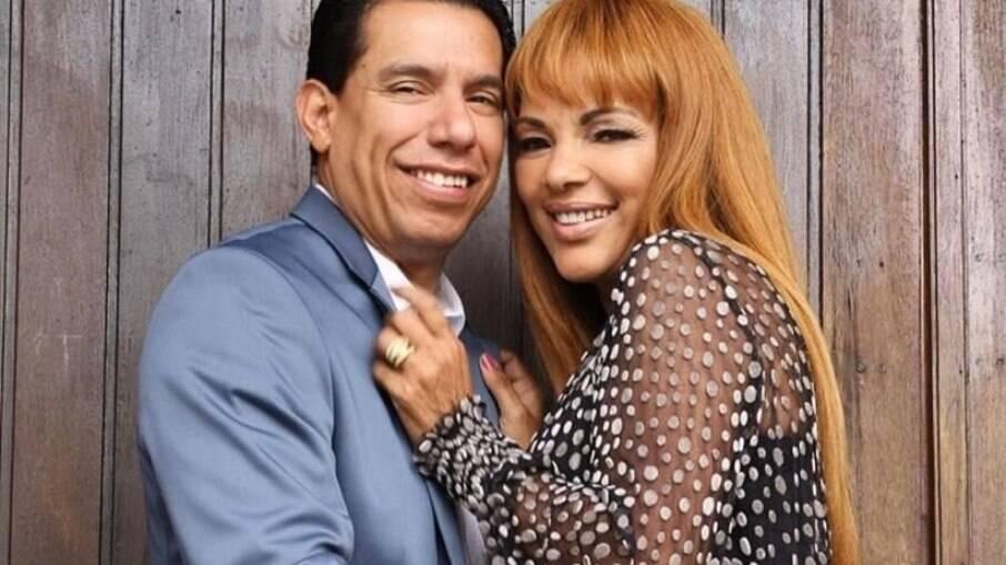 Flordelis e o marido, pastor Anderson