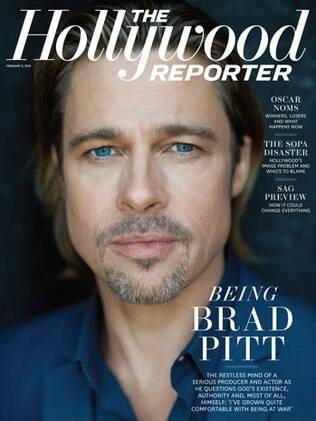 Em entrevista à revista, Brad Pitt também revelou que seus filhos gostariam que ele e Jolie se casassem