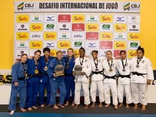 Brasil teve apenas uma vitória no confronto contra referências do judô feminino internacional