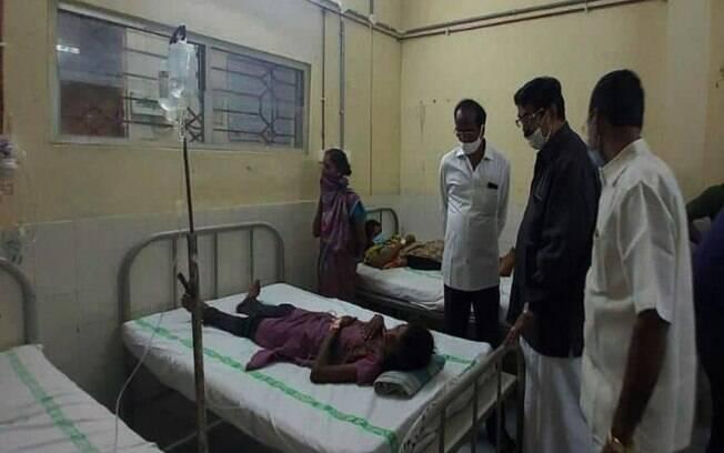 Até o momento, uma pessoa morreu e centenas foram hospitalizadas na região de
