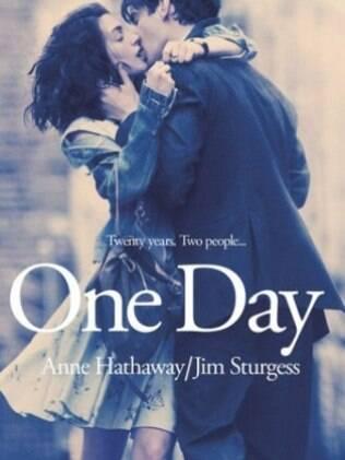 Cartaz do filme, Um dia, com Anne Hathaway e Jim Sturgess. Data prevista de estreia: 2 de dezembro
