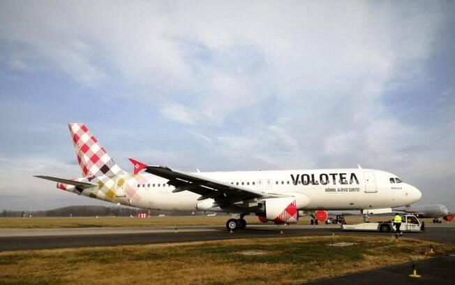 Primeiro Airbus A320 da Volotea é fotografado na República Checa