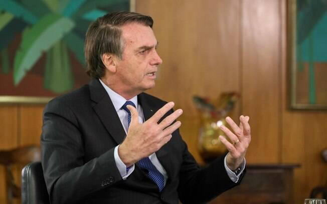 Jair Bolsonaro falou sobre possibilidade de tentar a reeleição