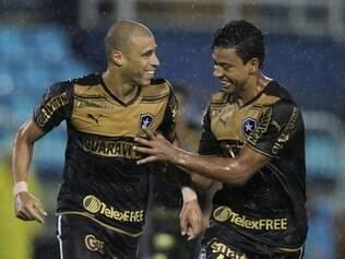 Jorge Wagner foi o autor do gol da vitória do Botafogo pelo Campeonato Carioca