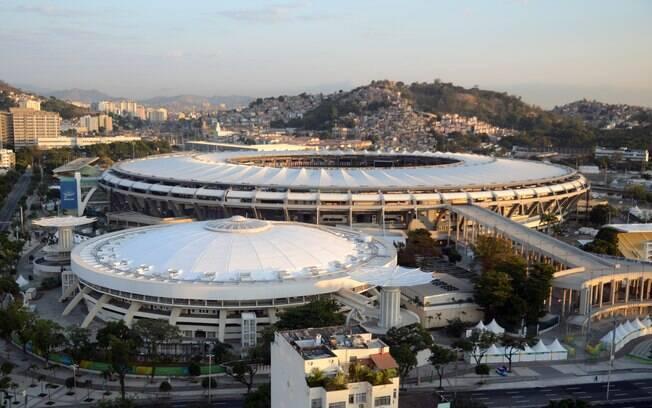 Hospital funcionará na área externa do estádio
