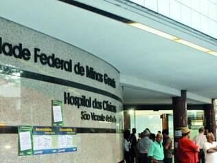 Custos. Somente o Hospital das Clínicas em Belo Horizonte tem um prejuízo de R$ 3 milhões mensais