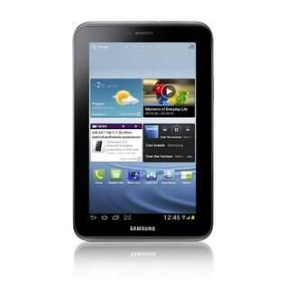 Galaxy Tab 2 de 7 polegadas possui o mesmo formato da versão anterior