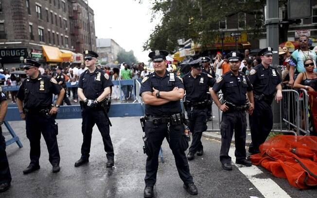 Policiais de Nova York