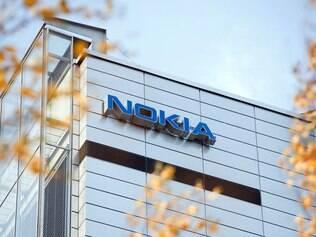Sede na Nokia em Espoo, Finlândia: concorrência asiática diminuiu fatia de mercado da empresa