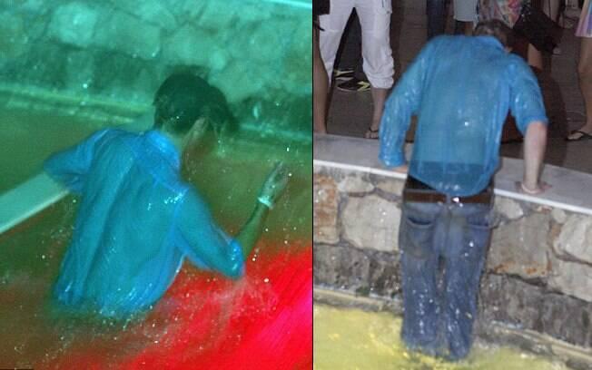 Príncipe Harry se jogou na piscina de uma boate na Croácia