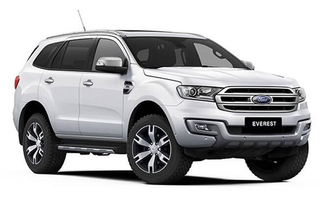 SUV da Ranger, o Ford Everest foi cogitado para o Brasil e Argentina, aproveitando a produção da picape no país hermano