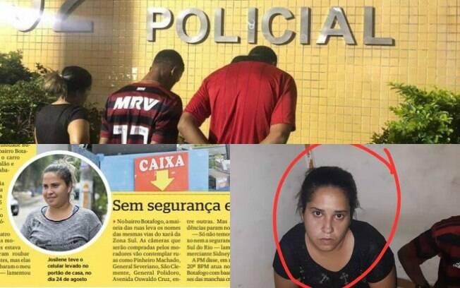 Josilene Cristina dos Reis Nazário, de 35 anos, foi presa na última sexta-feira