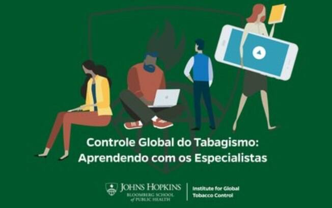 Curso on-line gratuito da Johns Hopkins Bloomberg School of Public Health pode ajudar a ampliar os esforços para reduzir o uso do tabaco no Brasil