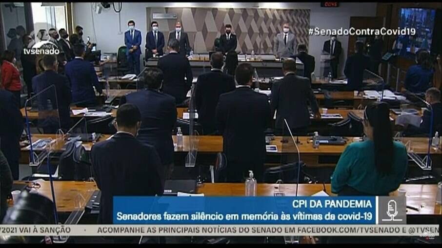 Tarcísio Meira foi homenageado na CPI da Covid-19